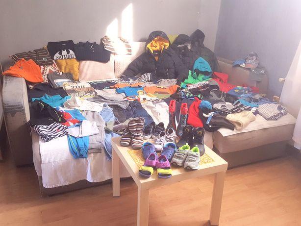 MEGA PAKA ciuchów dla chłopca 2-3 lata(110)H&M/Adidas-buty/spodnie!