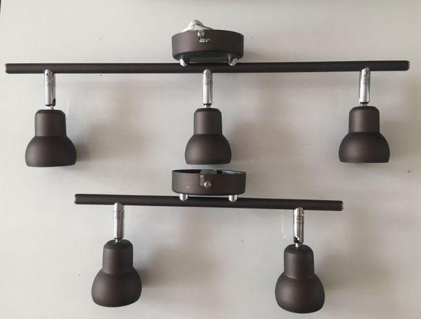 люстра, бра, настенный светильник (комплект 3+2) Чехия