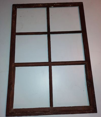 Okno żeliwne, stare okna żeliwne 70 x 97