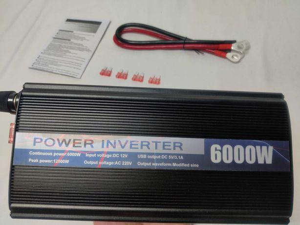[NOVO] Inversor / Conversor Potência 12000W [12V para 220V] - Corrente