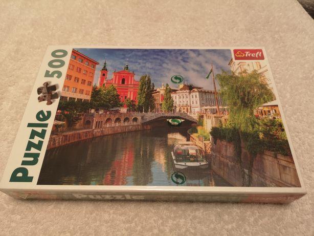 Puzzle Trefl 500, Ljubjana Słowenja
