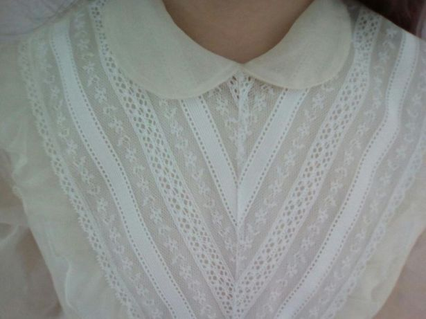 vestido comunhão vintage