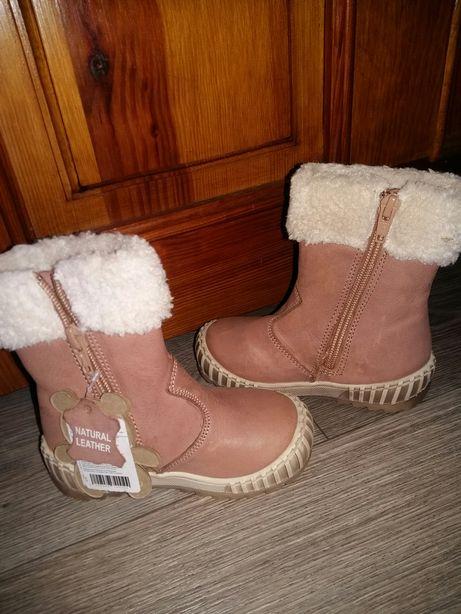 Сапожки зимние Lasocki для девочки