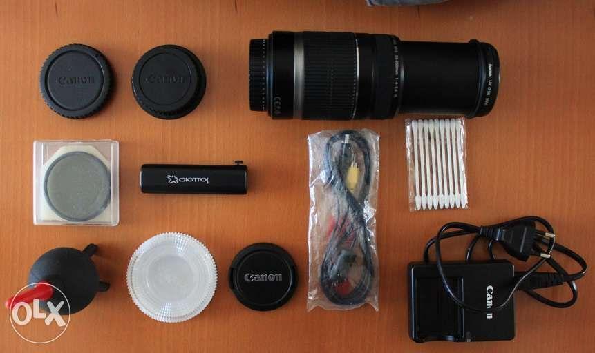 Objectiva Lente Canon 55 250 mm