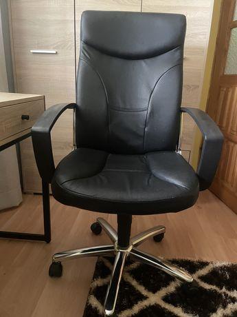 Fotel skórzany biurowy