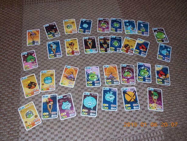 GRA KARCIANA Angry Birds Power Cards Space