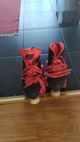 Botas/patins de hóquei