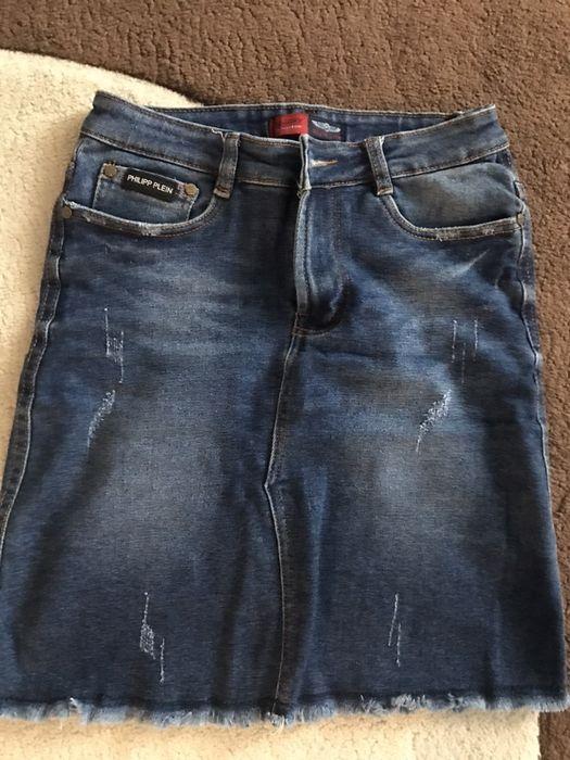 Джинсова юбка Умань - изображение 1