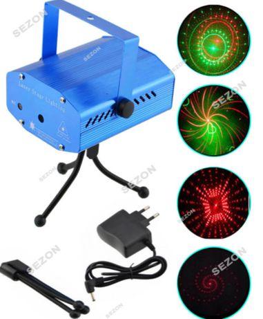 """Лазерний проектор """"Візерунки"""" з звукоізоляційним датчиком"""