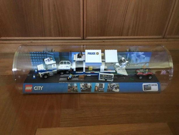 Expositor novo Lego City Police: Centro de Comando Móvel- 60139