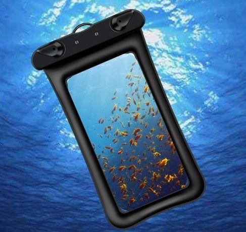 Топ Водонепроницаемый плавающий чехол аквабокс для телефона 4.0-5.5