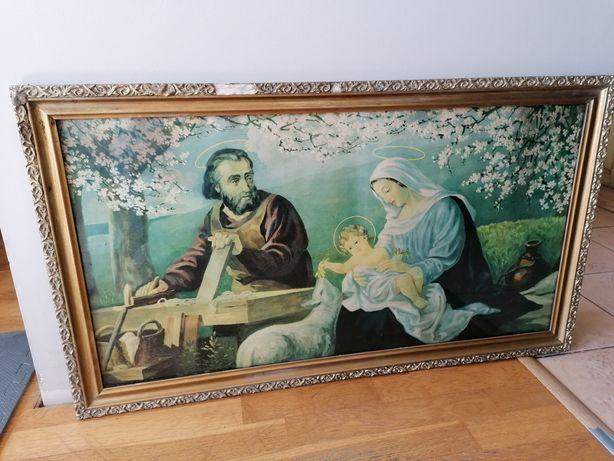 Obraz PRL Święta rodzina