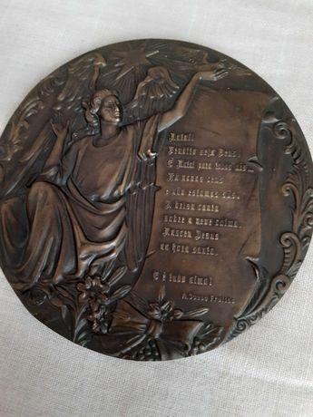 5 medalhas de Bronze antigas para coleção