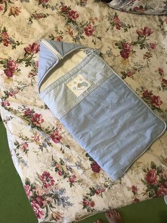 Конвертик ( конверт) для новорожденного
