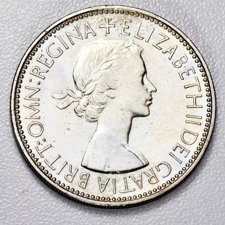 1953 Great Britain Two Shilling Florin