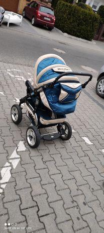 Wózek spacerowy masywny