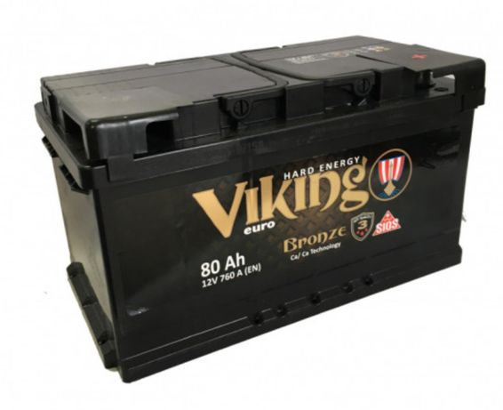 Akumulator VIKING BRONZE 12V 80Ah 760A