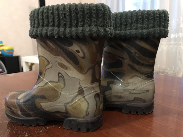 Резиновые сапоги, резинові чоботи чобітки Demar, размер 20-21