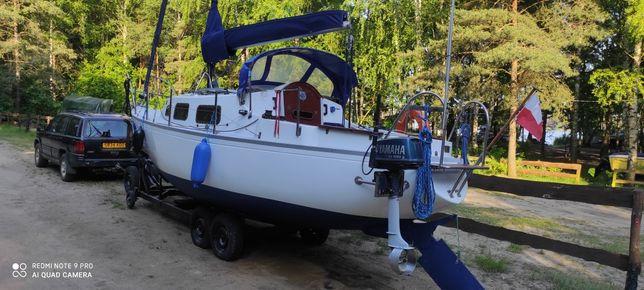Jacht żaglowy Dollart 27 , żaglówka , łódka