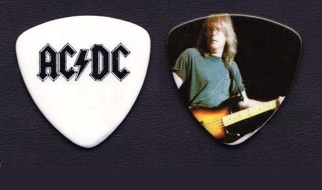 Palheta AC/DC do baixista tour 2009