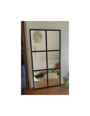 Lustro loft szprosy okno transport gratis 50x150