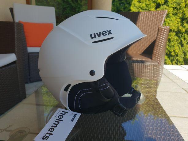 Uvex kask narciarski p1us 2.0 white