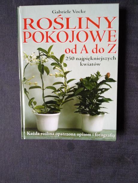 Książka - Rośliny pokojowe od A do Z