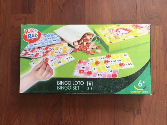 Bingo Rik e Rok Novo