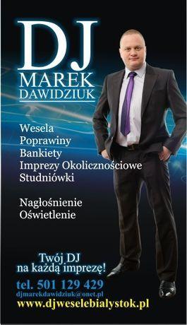 DJ / Prezenter Muzyczny Marek Dawidziuk