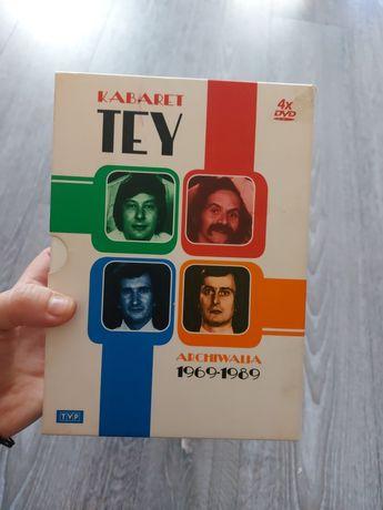 Kabaret TEY 4plyty dvd