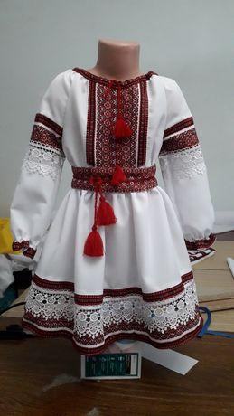 """Вишиванка """"Мереживна"""". Комплект або сукня"""