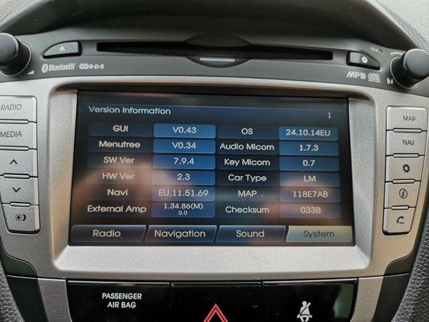 Radio Hyundai ix35 MAPY!