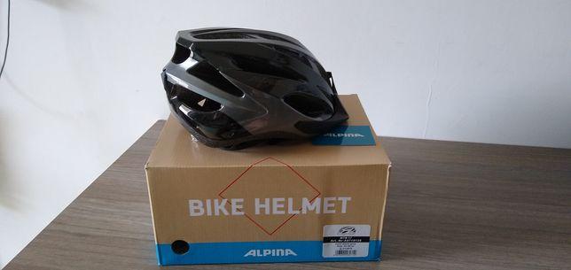 Kask rowerowy ALPINA MTB 17 Black Grey NOWY unisize 54 58