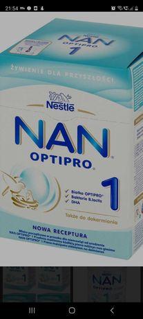 Mleko nan 1 2x400g plus gratis