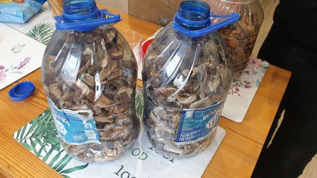 Suszone grzyby (prawdziwki i podgrzybki) 160 pln za 1kg