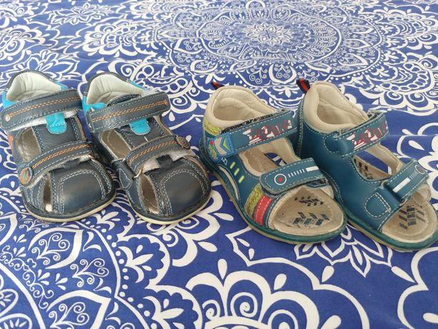 Sandałki chłopięce r.21-22