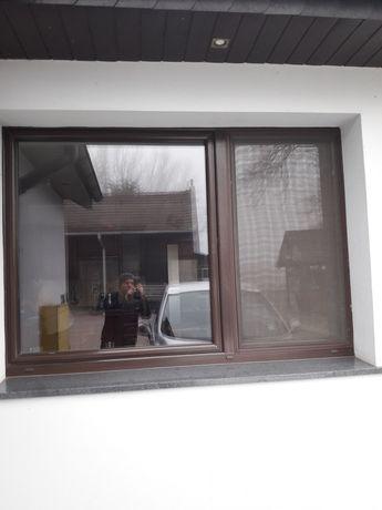 Okno plastikowe drutex 205 x 140 wysokiej cm
