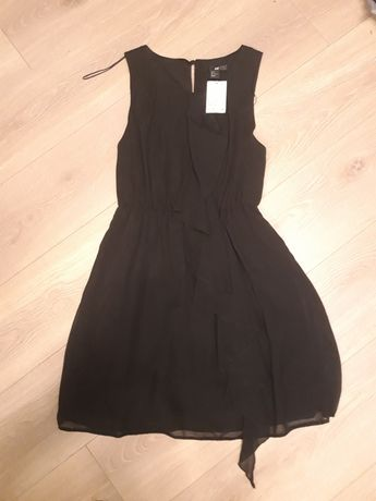 Sukienka czarna H&M nowa z metką