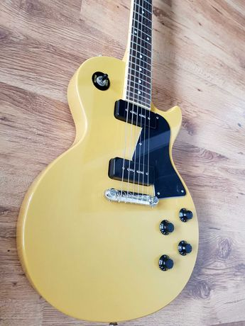 Epiphone Les Paul Special TV Yellow 2019 + Hathor P90 Naughty Butter!