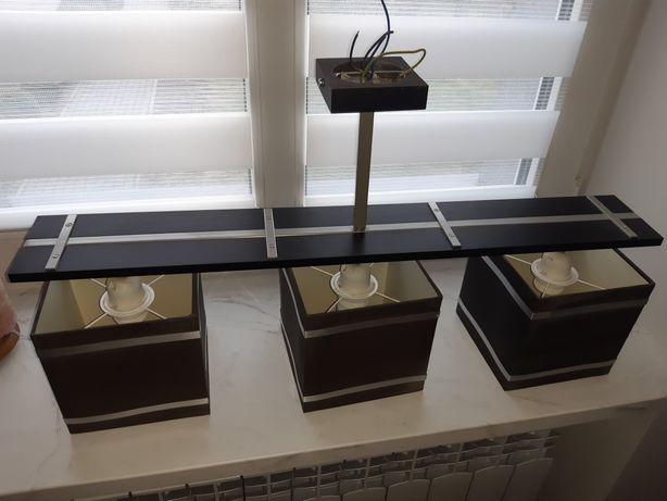 Lampa wisząca 3 punkty oraz dwie lampki stojące Luminex Markus