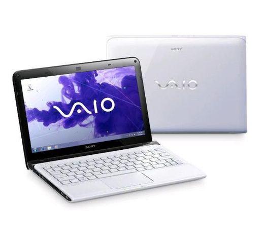 Laptop Sony VAIO SVE1111M1E biały z ładowarką