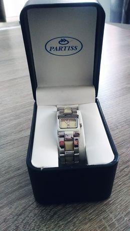 Zegarek damski z tygrysim oczkiem, bransoleta