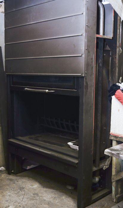 термокамин clam italy. дрова Мамалыга - изображение 1