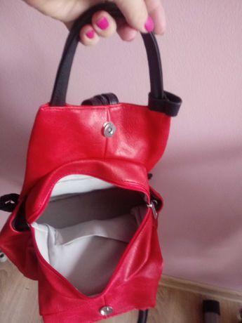 Plecak nowy! Czerwony.