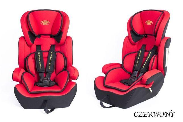 ! Nowość - Dziecięcy Fotelik Samochodowy Sport 9-36 kg - 3 KOLORY