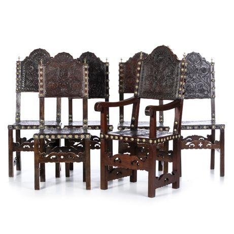 Conjunto 5 Cadeiras Cadeirão