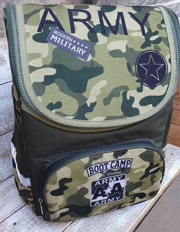 Камуфляжный рюкзак с ортопедической спинкой