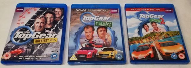 3 Blu-Ray Top Gear