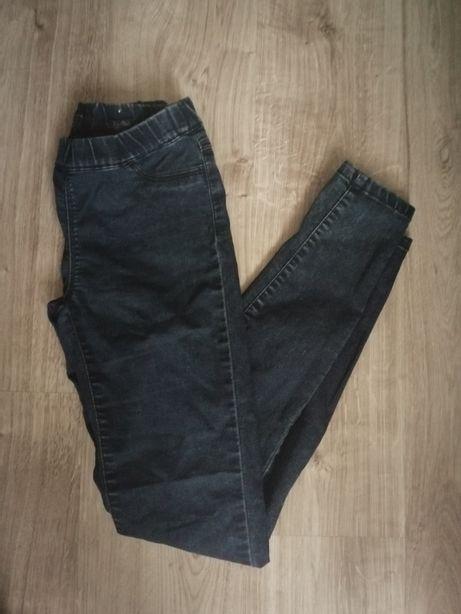 Spodnie jeansy jegginsy Reserved