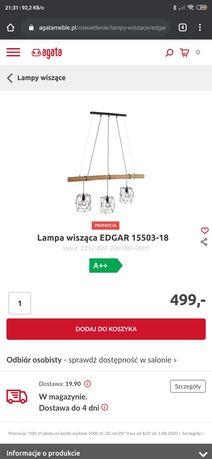 """Lampa wisząca ze sklepu """"Agata meble"""""""